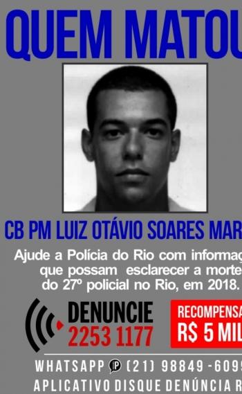 Portal dos Procurados pede informa��o sobre quem matou policial