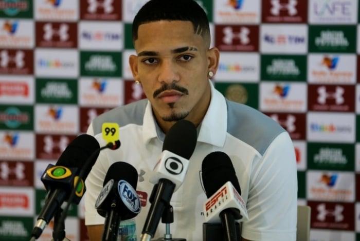 Gilberto vive bom momento no Fluminense