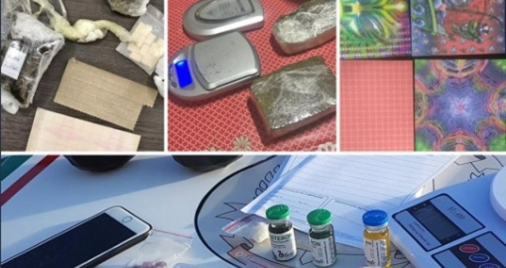Operação Caça às Bruxas combate tráfico interestadual de drogas sintéticas.