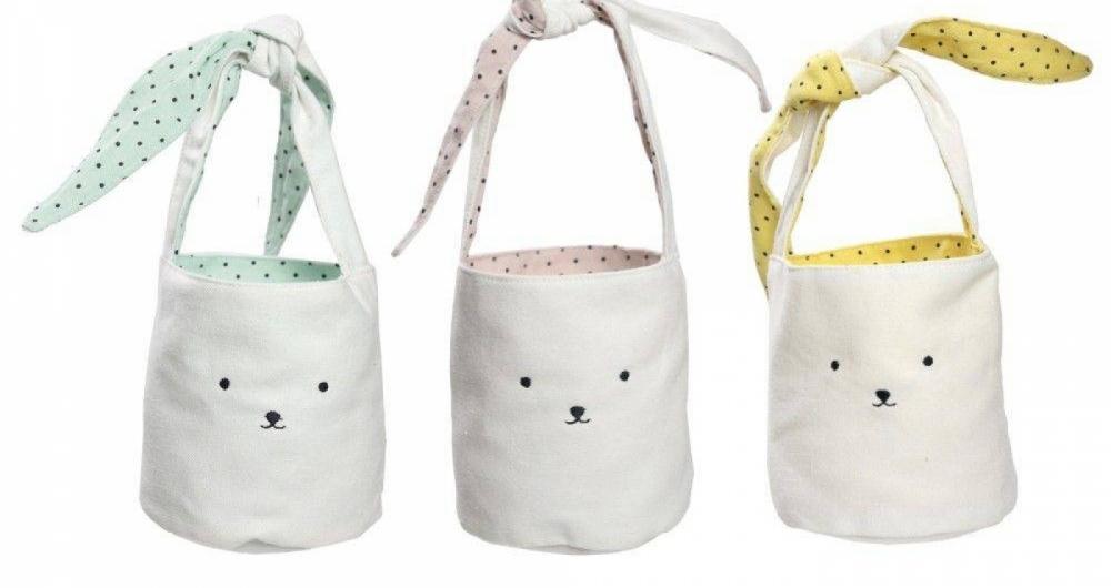 No Shoptime,  seis bolsinhas com rosto de coelho custam R$ 267,90.