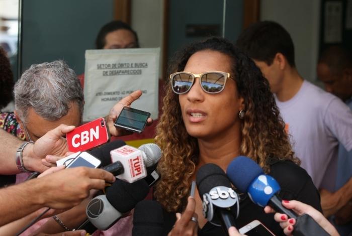 'Estamos em perigo' no Brasil, afirma irmã de Marielle Franco