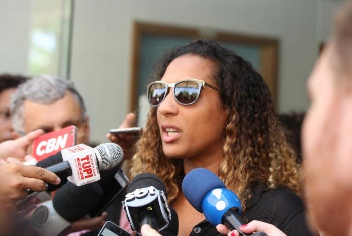 Irmã de Marielle é agredida verbalmente por apoiadores de Bolsonaro