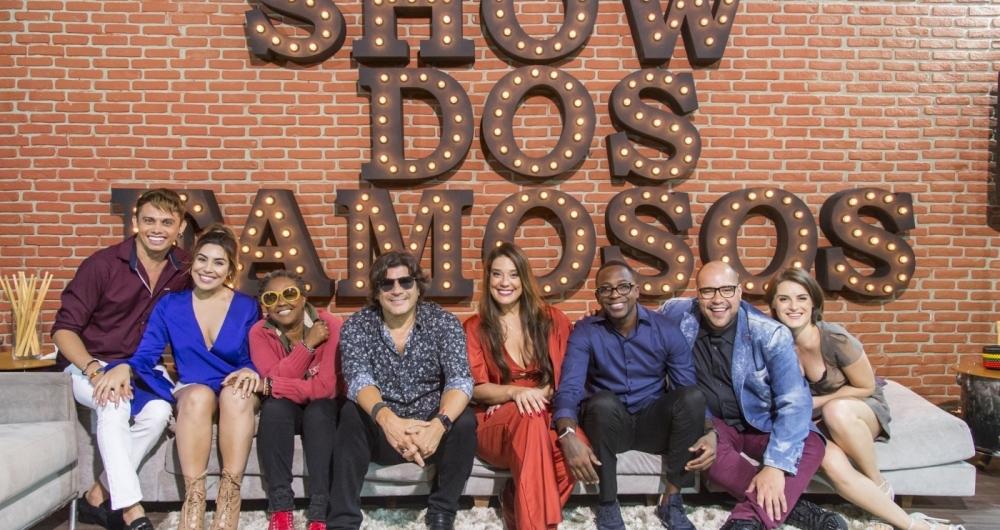 O elenco do 'Show dos Famosos', que estreia no dia 25 de mar�o