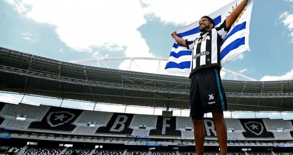 Aguirre exaltou a hist�ria dos uruguaios no Botafogo