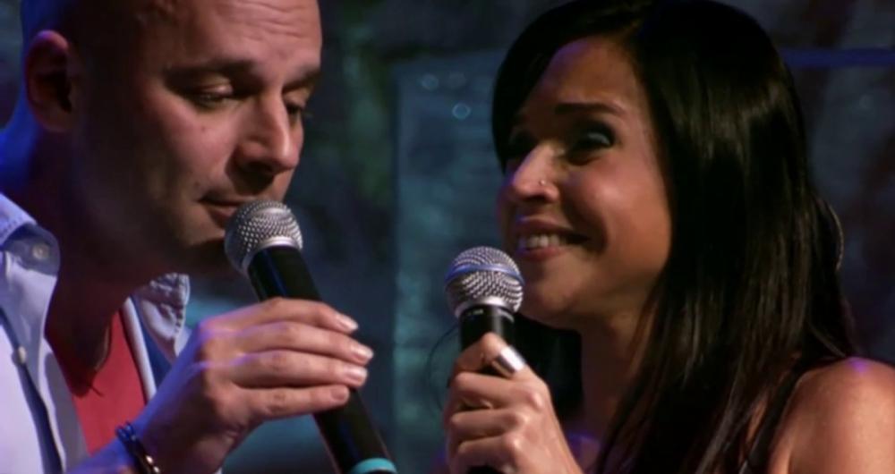 Marcelo Quintanilha e Daniela Mercury cantam juntos