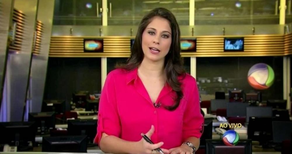A jornalista J�ssica Senra saiu da Record para afiliada da Globo na Bahia
