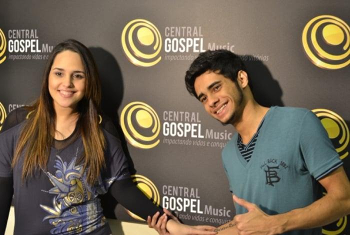 Perlla e o marido Cássio Castilhol