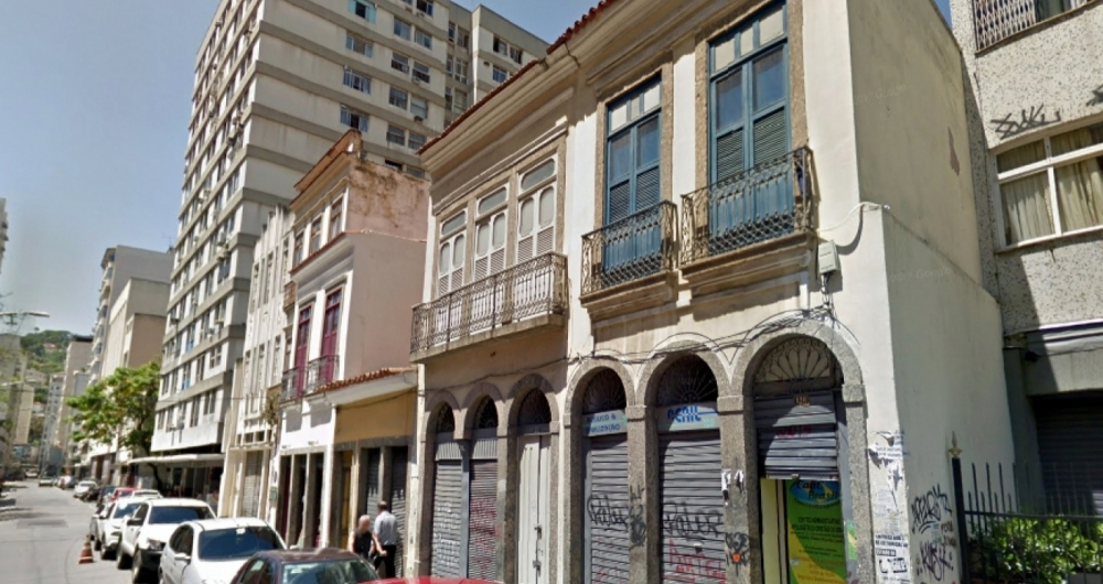 Sobrado onde Marielle Franco esteve antes de ser assassinada