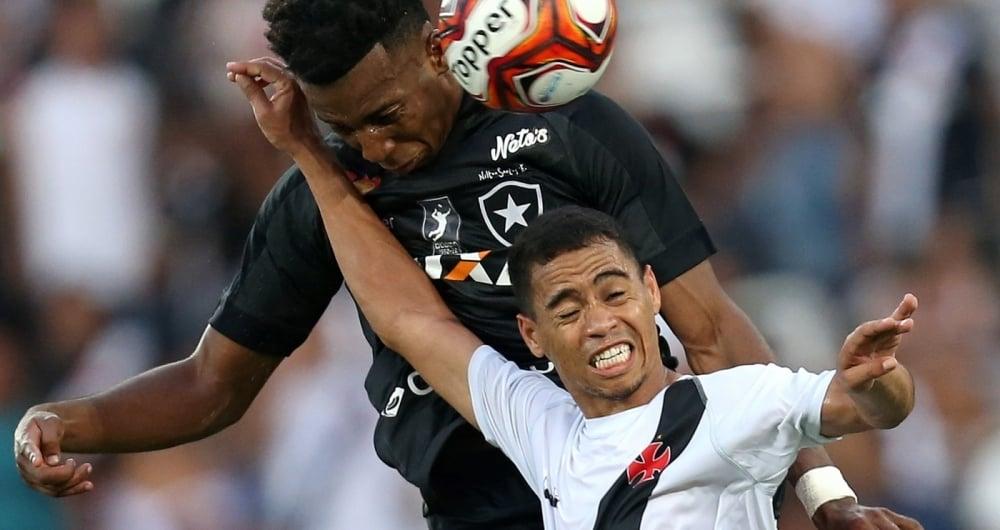 Moises. Botafogo x Vasco pelo Campeonato Carioca no Estadio Nilton Santos. 18 de Marco de 2018, Rio de Janeiro, RJ, Brasil. Foto: Vitor Silva/SSPress/Botafogo.