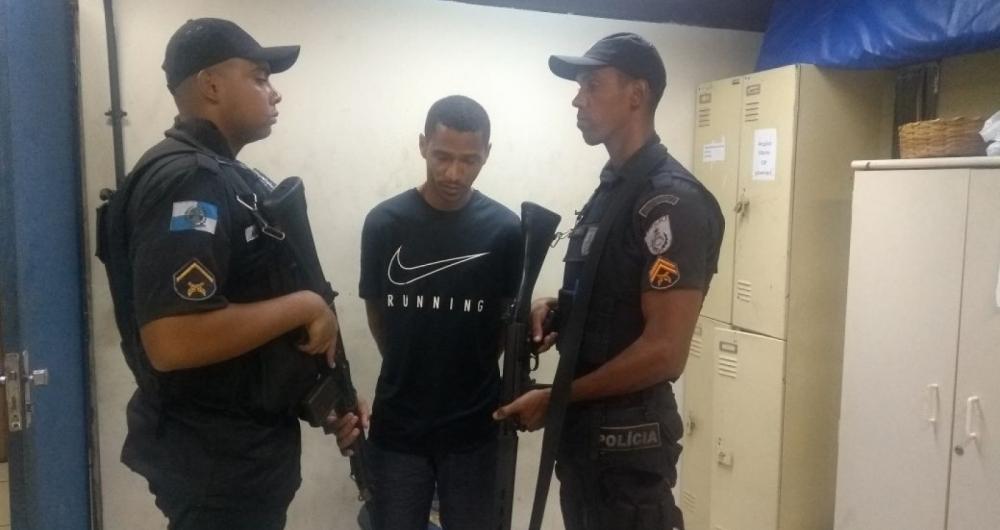 Assaltante de apartamentos na Zona Sul � preso