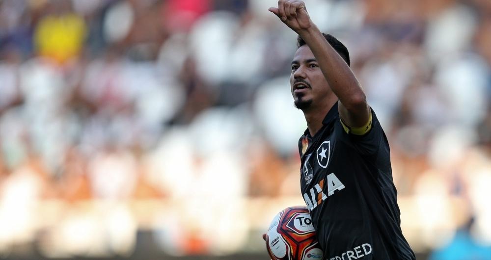 Lindoso. Botafogo x Vasco pelo Campeonato Carioca no Estadio Nilton Santos. 18 de Marco de 2018, Rio de Janeiro, RJ, Brasil. Foto: