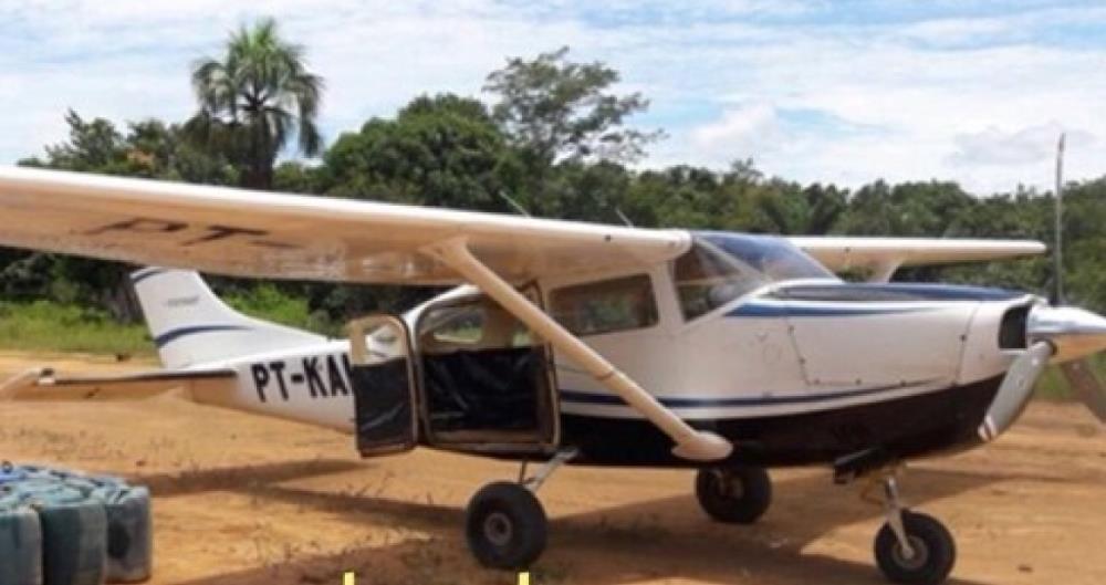 Dois aviões foram roubados próximos à rodovia Transamazônica no Pará.
