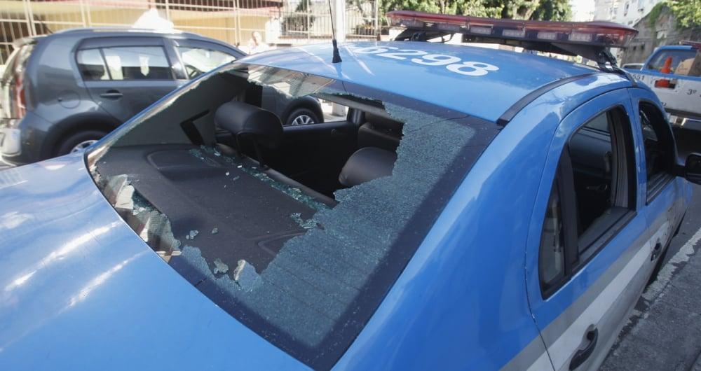 Tiroteio acabou com dois criminosos mortos e um PM ferido