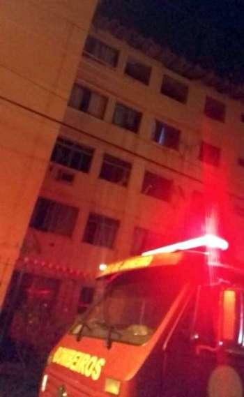 Apartamento em Campo Grande tem forte explosão