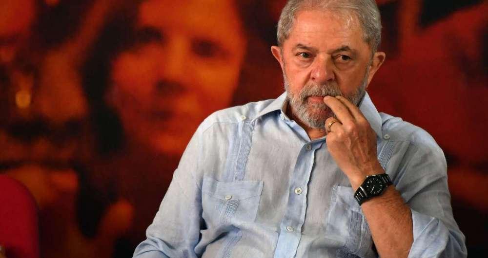 Lula acompanhou o julgamento na sede do sindicato dos metal�rgicos do ABC, em S�o Bernardo do Campo