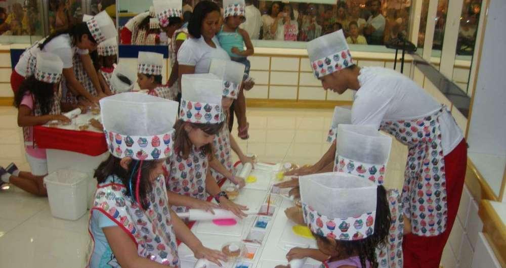 Oficina de decora��o de cupcake ser� no Caxias Shopping, no domingo