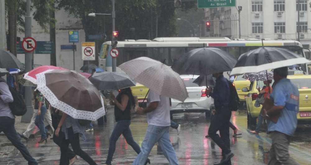 Rio ainda tem chuva nesta quarta-feira