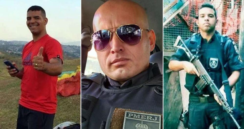 Policiais mortos no Rio de Janeiro