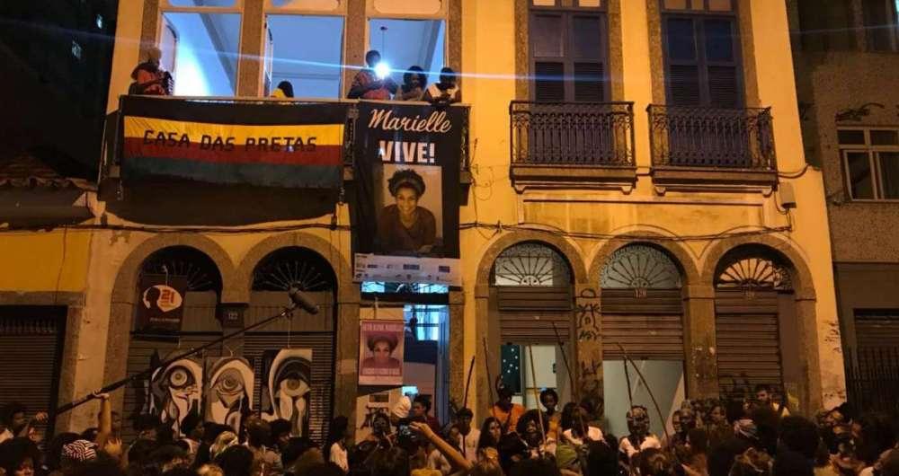 Casa Das Pretas Homenageia Marielle Franco O Dia Rio De Janeiro