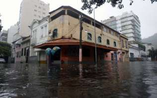 Chuva forte no Rio