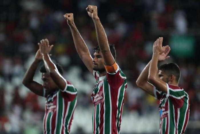 Fluminense conseguiu a classificação