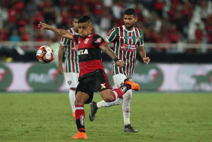 Everton fez o gol do Flamengo