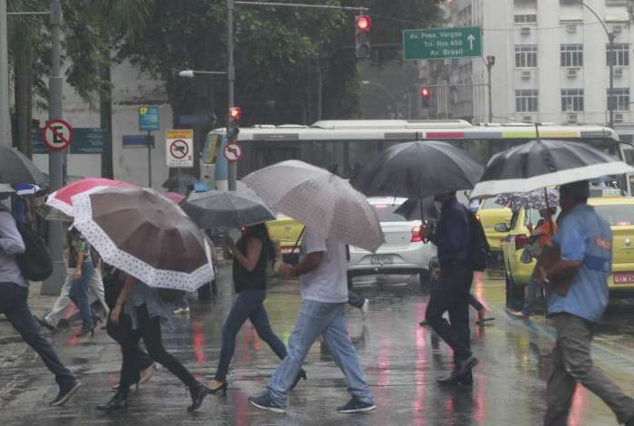 Rio pode ter chuva nesta quarta-feira