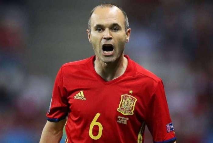 eca14c2004 Iniesta diz que se aposentará da seleção espanhola após a Copa do ...