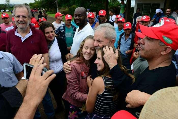 Lula: caravana do petista pelo Sul esteve ontem em Cruz Alta