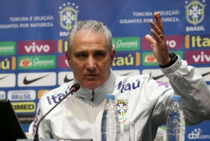 Tite convoca a seleção brasileira nesta segunda