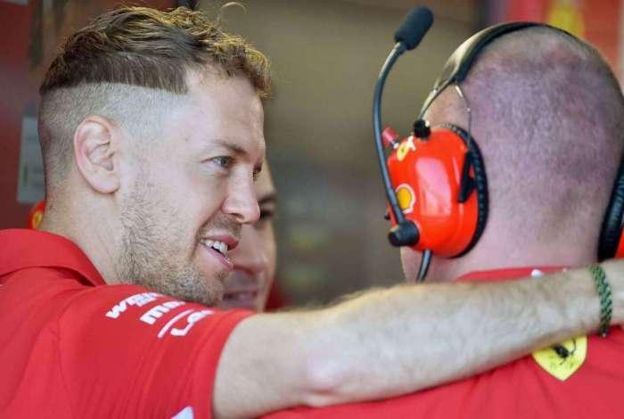 Vettel planeja resultado melhor na Rússia