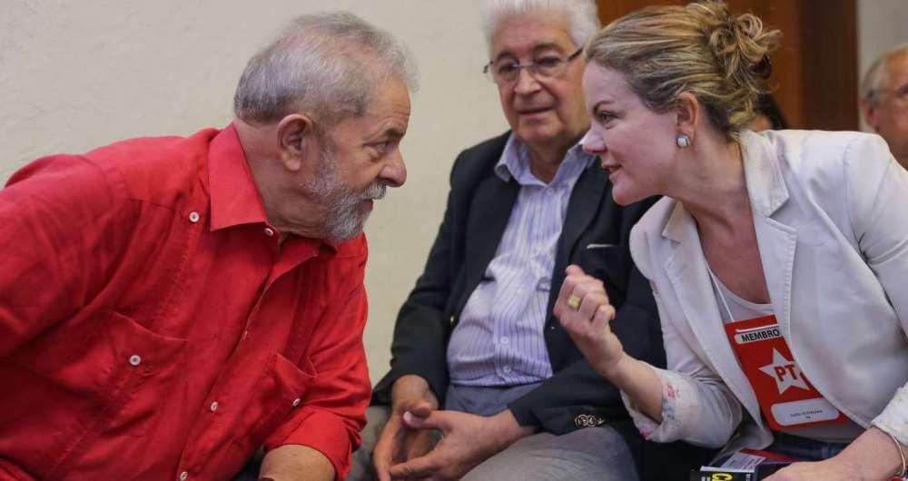 Lula, Requião e Gleisi Hoffmann