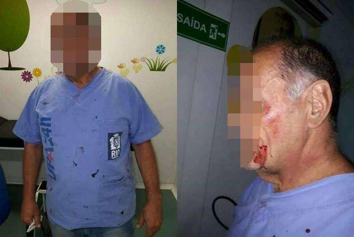 Médico agredido na UPA de Paciência postou relato nas redes sociais