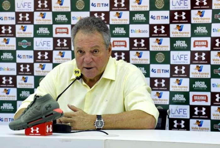 Abel Braga destacou evolução do Fluminense
