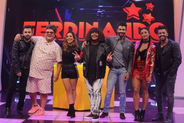 Junior Waldorf, Gominho, Wanessa Camargo, Marcus Magella, Gusttavo Lima e Aline Riscado
