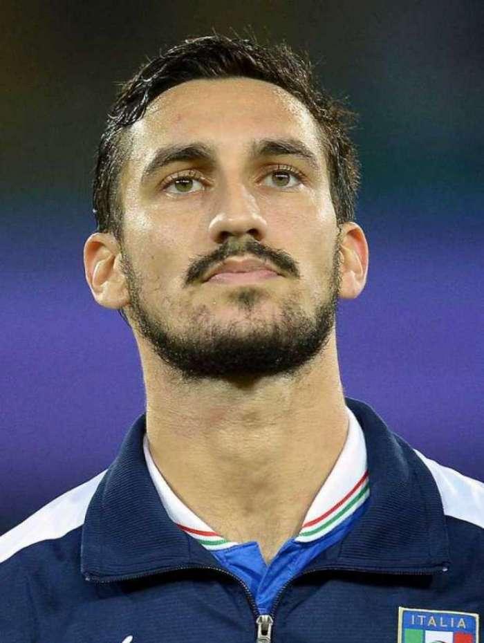 Davide Astori passou pela seleção italiana
