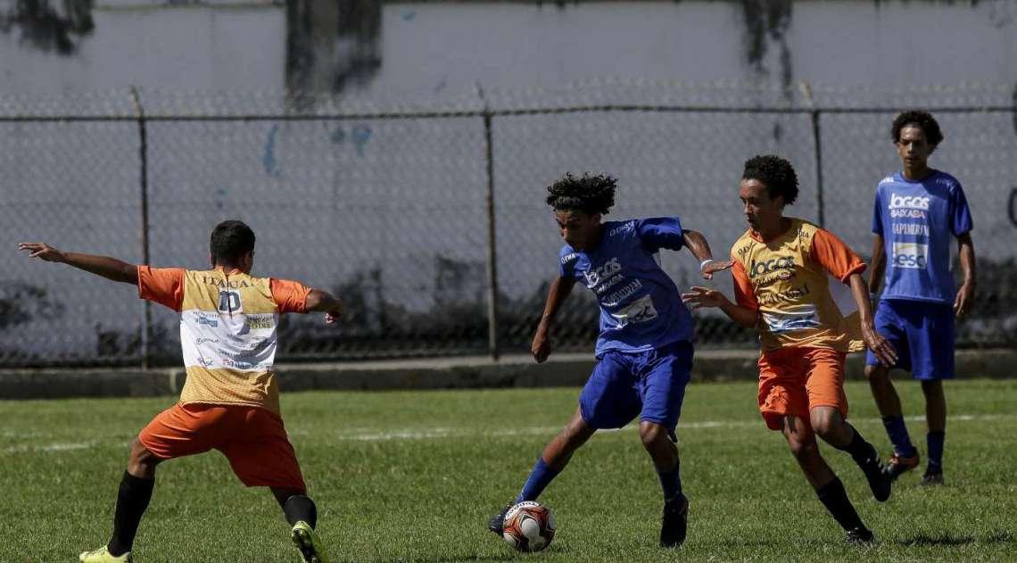 Partida entre Itaguaí e Guapimirim no futebol
