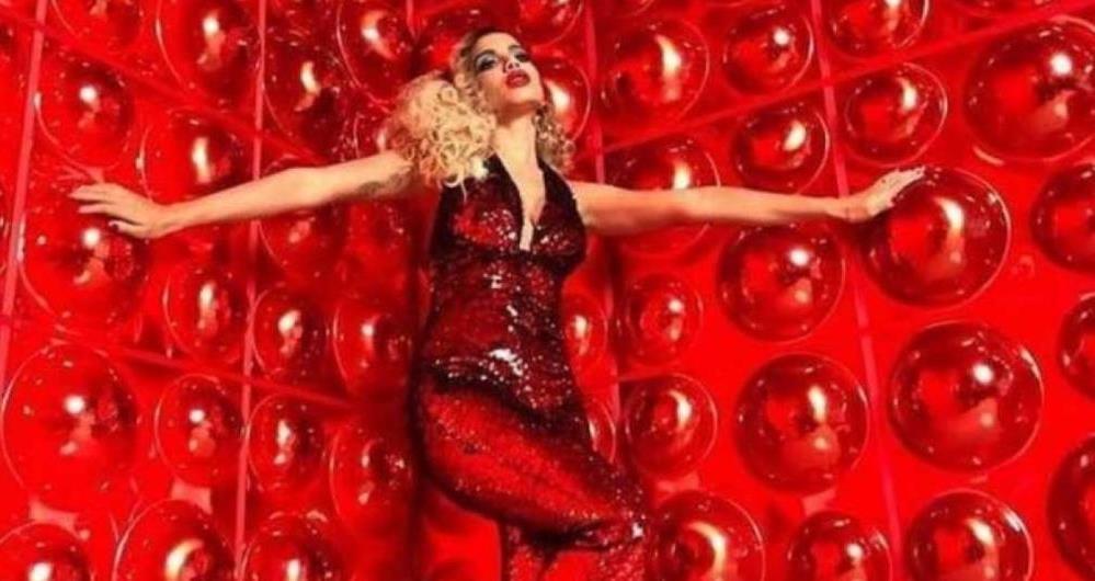Anitta pronta para a gravação do clipe de 'Indecente'