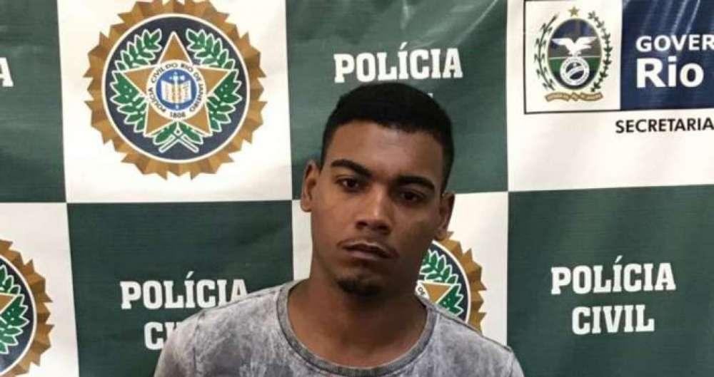 Higor Rosa, preso no Morro do Estado