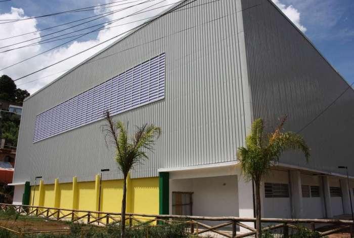 O complexo esportivo vai funcionar em uma área com 1,6 mil metros quadrados, no bairro do Caxambu