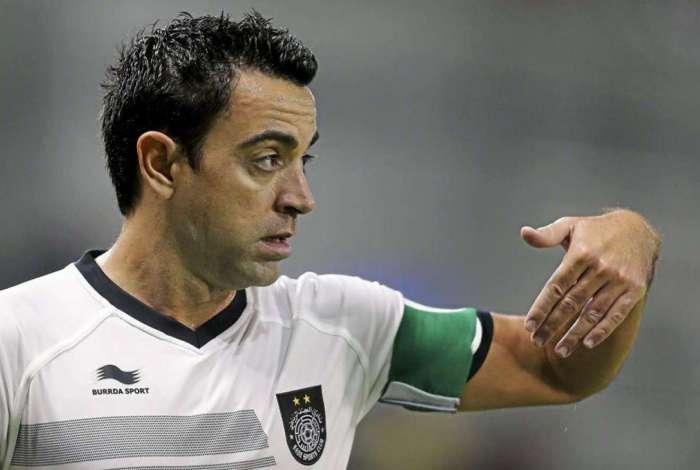 Xavi faz história no futebol