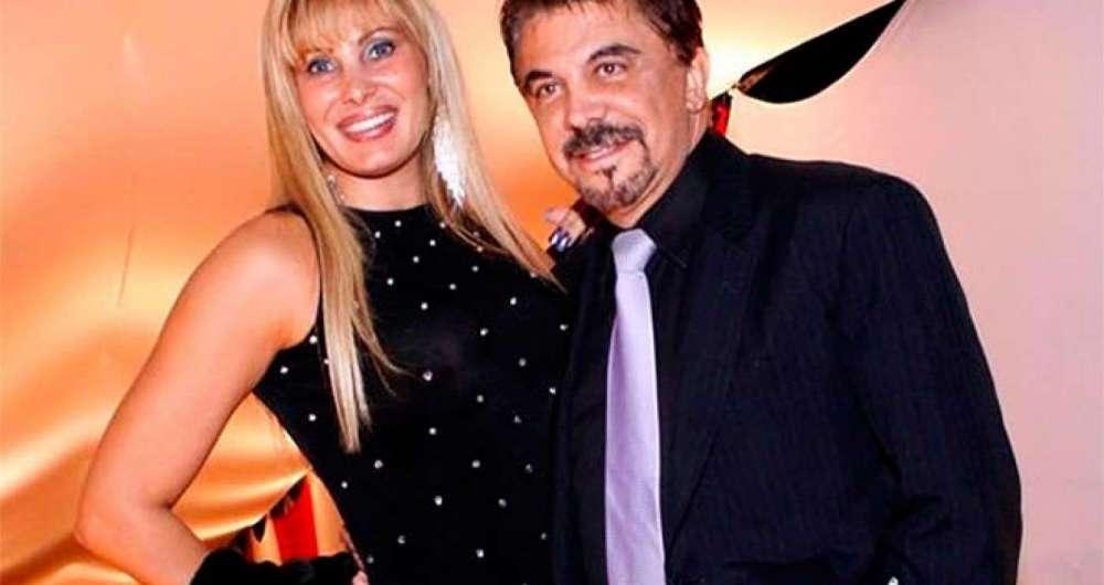 Ângela Bismarchi e o marido Wagner de Moraes