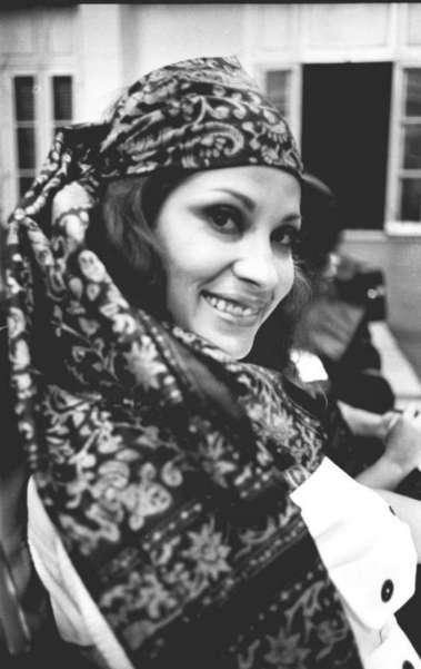A cantora Clara Nunes interprete MPB - Foto arquivo O Dia feita 05/10/70. Foto Aymor�       Special