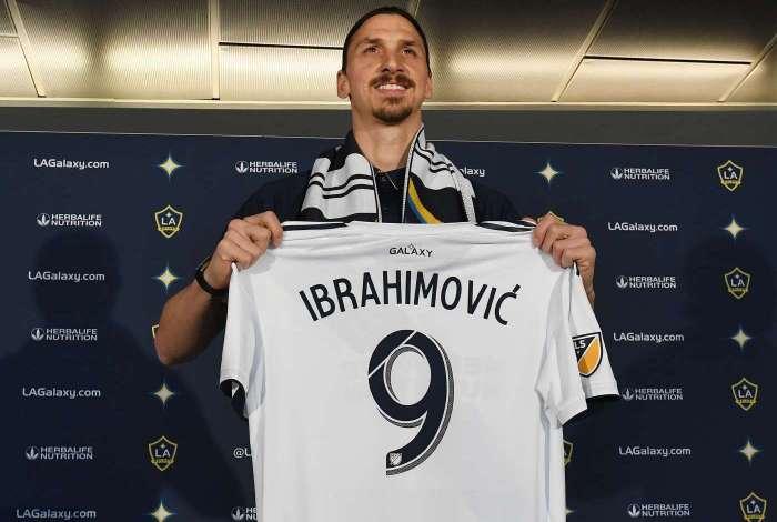 Zlatan Ibrahimovic está atuando na MLS atualmente