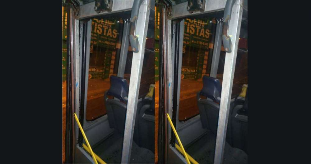 BRT Transoeste interrompe servi�o por quase quatro horas ap�s a��o de v�ndalos
