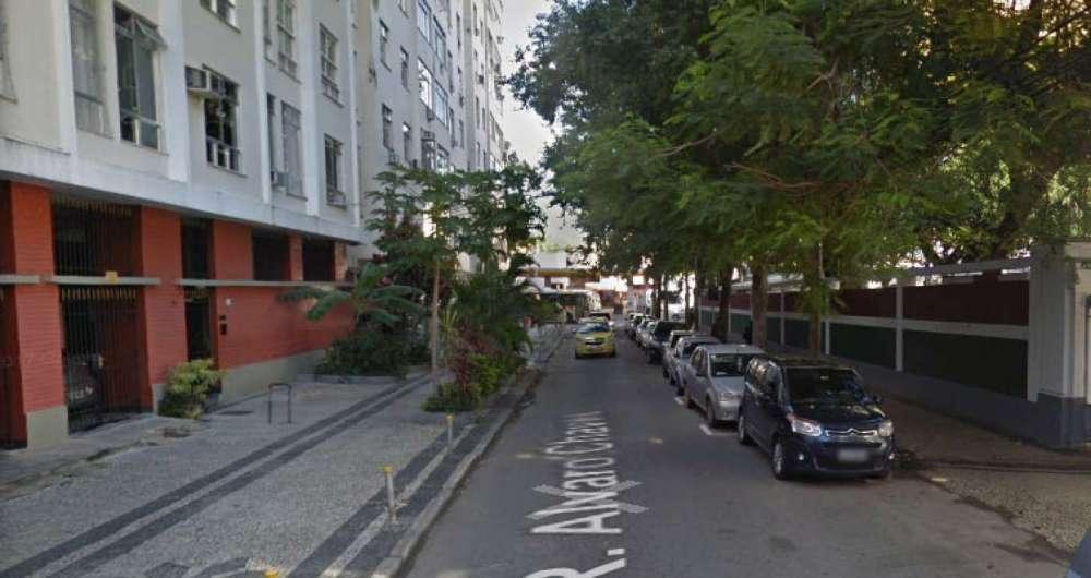 Rua �lvaro Chaves, onde ocorreu o assalto