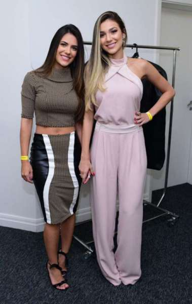 Jade Magalh�es e Bruna Santana