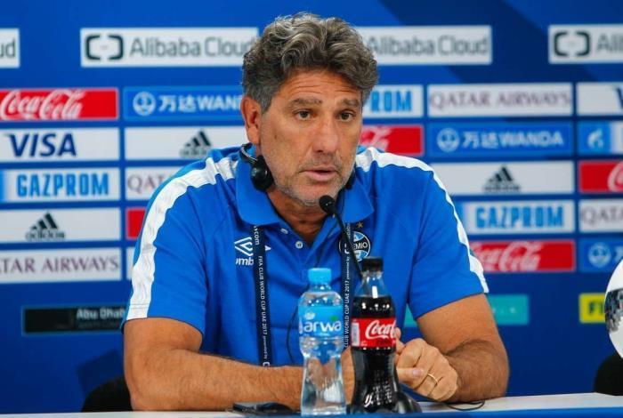 Renato Gaúcho criticou a postura do Internacional