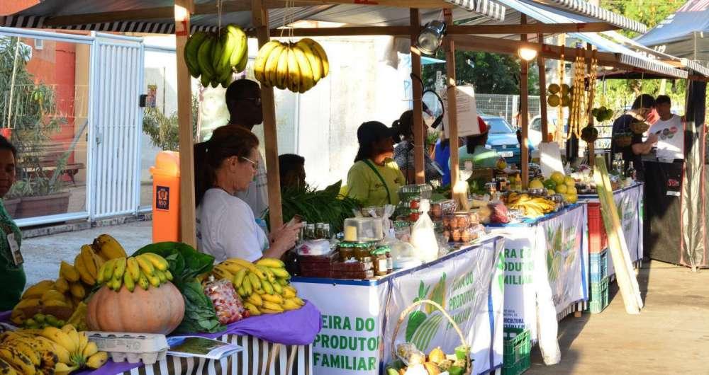 As feiras garantem frutas, legumes e verduras frescos, que saem diretamente dos produtores para os consumidores. Al�m da variedade da produ��o agr�cola, produtos como mel, temperos e doces em compota tamb�m s�o vendidos