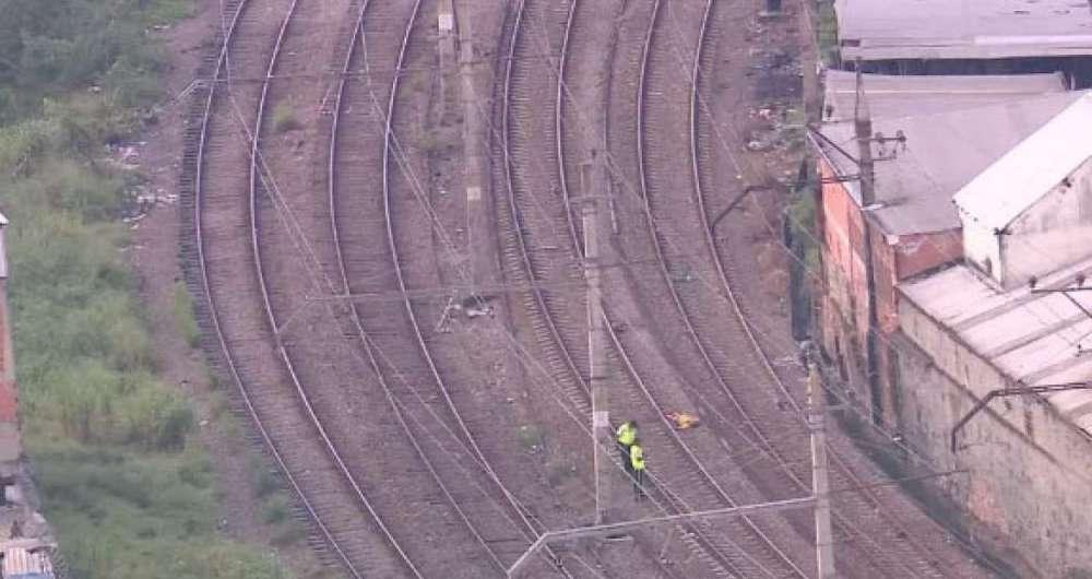 Corpo foi encontrado em linha férrea na Zona Norte